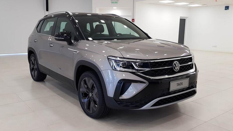 VW Taos 2021: así es en persona