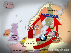Audi, BMW y Mercedes-Benz quieren comprar el sistema de mapas Nokia Here