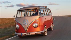 Volkswagen e-Bulli conserva el estilo clásico solo que su movilidad es eléctrica