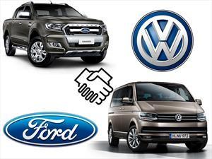 Ford y Volkswagen se juntan para desarrollar vehículos comerciales