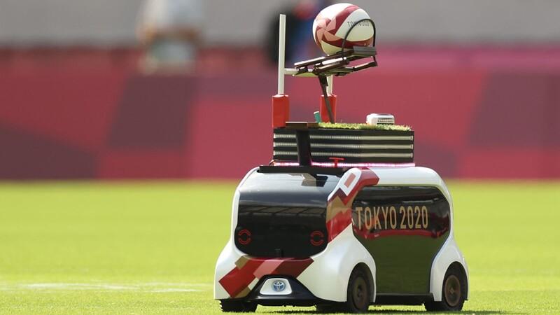 Los mini autos de Toyota que se han robado los reflectores en los Juegos Olímpicos de Tokyo