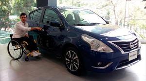 Nissan Versa GO 2019 llega a México el primer auto para personas con discapacidad motriz