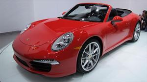 Porsche 911 Carrera Cabriolet 2012 en el Salón de Detroit