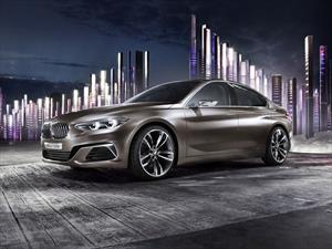 BMW Concept Compact Sedan se presenta