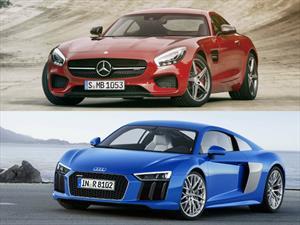 Audi R8 vs Mercedes-AMG GT S ¿quién gana?