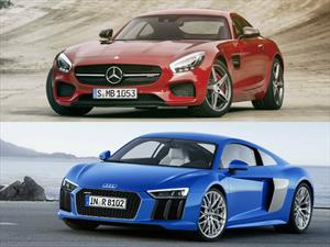 Audi R8 vs Mercedes-AMG GT S ¿quién es mejor?
