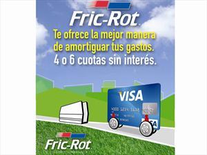 Fric Rot amortigua tus gastos con Visa