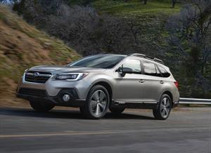 Subaru Outback 2018 es puesto al día
