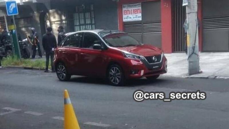 Se filtra nuevo Nissan March 2021