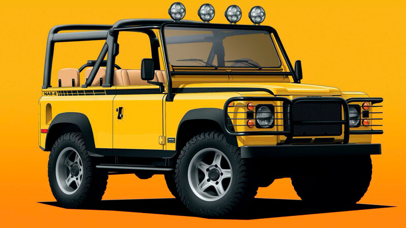 Twisted NAS-E 4×4: El Land Rover Defender 100% ecológico