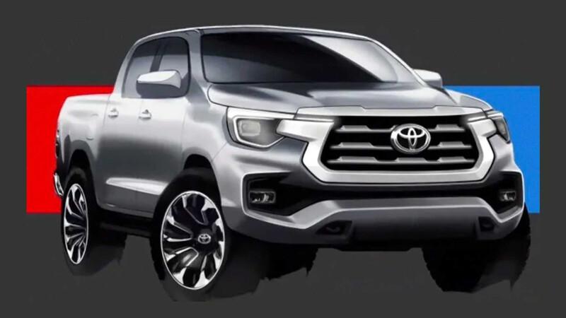 Toyota prepara una Hilux con versión eléctrica, motor V6 y plataforma de Tundra