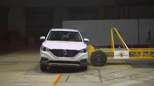 MG ZS EV y HS logran las 5 estrellas Euro NCAP