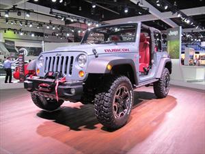 Jeep Wrangler Rubicon Edición 10° Aniversario en Salón de Los Ángeles 2012