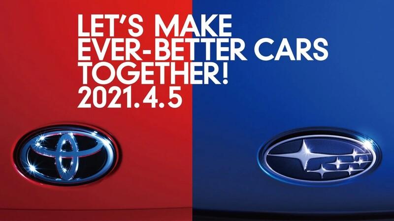 ¿Qué será lo que traman Toyota y Subaru para abril?
