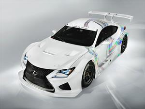 Lexus RC F GT3 Racing Concept, listo para correr