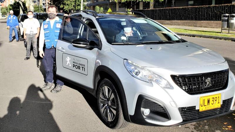 Peugeot moviliza a la Cruz Roja Colombiana