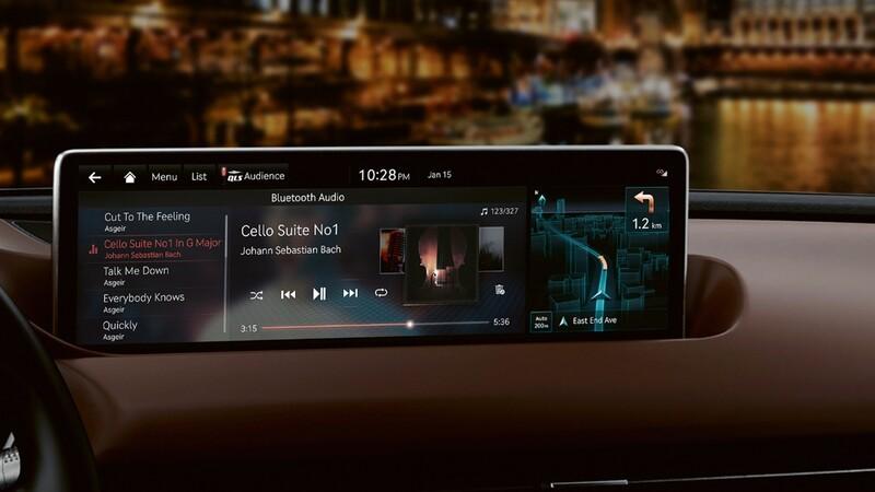 Carros de Hyundai, Kia y Genesis equiparán sistema de info-entretenimiento avanzado