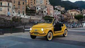 Fiat 500 Jolly Spiaggina Icon-e, un divertido auto clásico 100% eléctrico