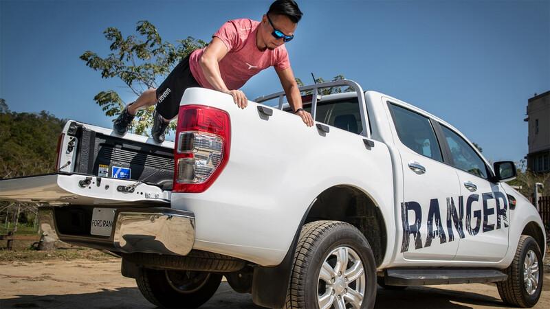 Dueños de Raza Fuerte: convertí a su Ford Ranger en un GYM