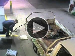 Video: el intento de robo más tonto del año