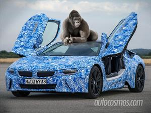 BMW i8 con Gorilla Glass