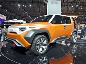 Toyota FT-4X Concept debuta