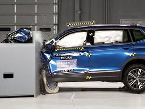 Volkswagen Tiguan 2018 gana el Top Safety Pick del IIHS