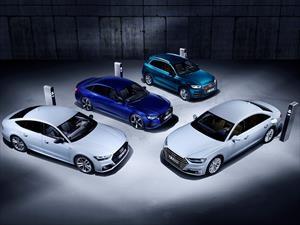 Audi presenta a sus híbridos enchufables