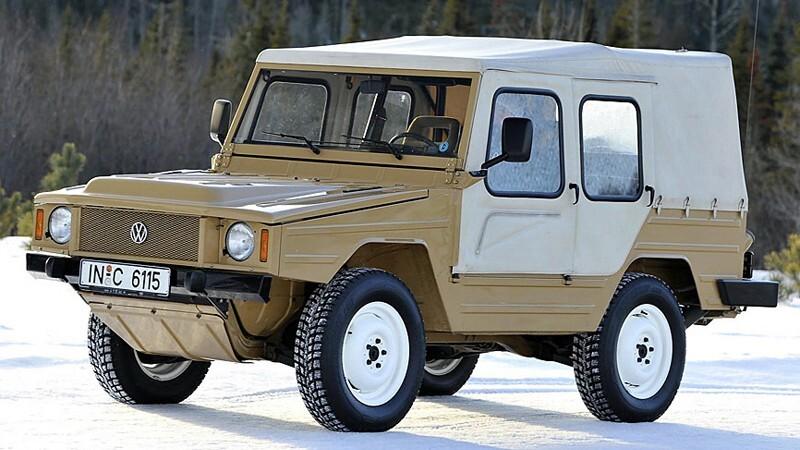 Volkswagen Iltis -Type 183-, el SUV militar con alma de Audi