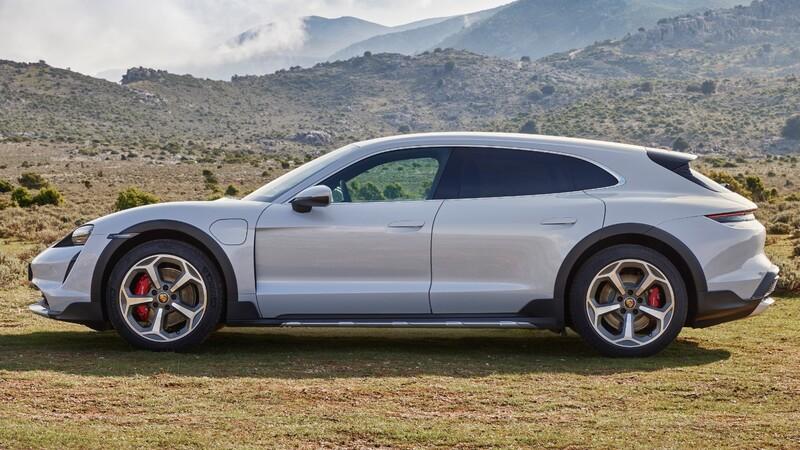 Porsche Taycan Cross Turismo: un poderoso auto todoterreno eléctrico; pronto llega a México