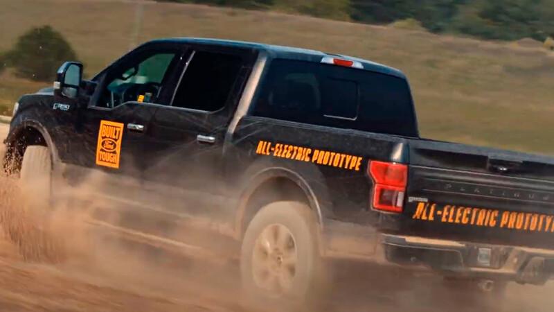 Ford F-150 100% eléctrica será una realidad