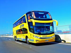Buses ETM presenta unidades Scania con inédita tecnología de seguridad Activa