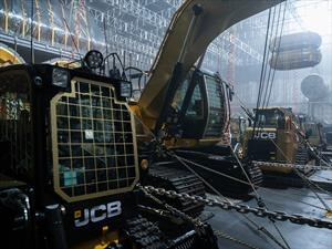 Maquinaria de JCB sale en la película Alien: Covenant