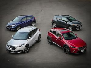 Comparativa: Mazda CX-3 vs Nissan Kicks vs Chevrolet Trax vs Honda HR-V