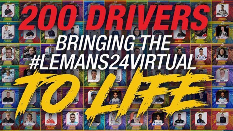 Las 24 Horas de Le Mans de 2020 sí se llevarán a cabo, aunque de forma virtual