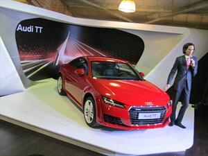Audi TT, roadster que deslumbró en el Salón de Bogotá 2014