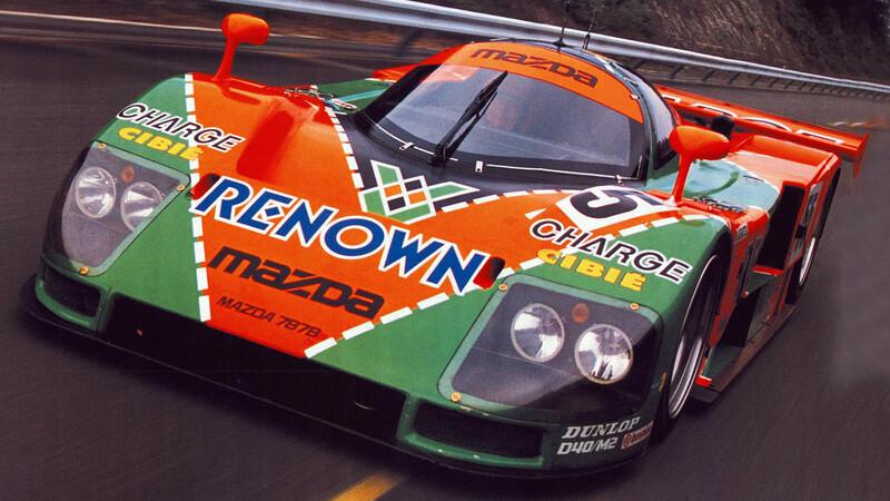 Mazda celebra 30 años de haber ganado en Le Mans con un motor rotativo