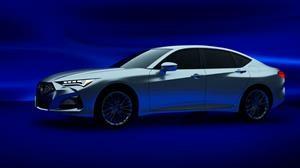 Se filtra la nueva Acura MDX 2020 junto a un misterioso sedán