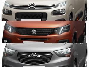 PSA presenta teaser de su renovado trio dinámico de furgones