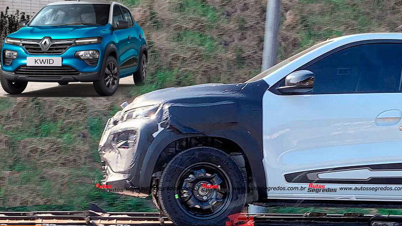Renault Kwid: El hatchback ya está probando el rediseño para Argentina