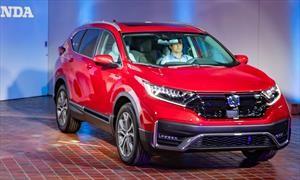 Honda CR-V 2020 obtiene nueva imagen, más equipamiento y una versión híbrida