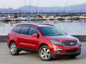 Chevrolet Traverse es elegida entre los mejores autos familiares del 2014