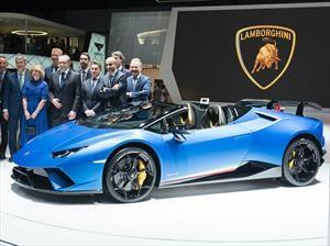 Lamborghini Huracán Performante Spyder, el rey de la pista ahora se descapota