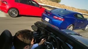 VW GTI vs Chevrolet Camaro vs Mazda MX-5 ¿cuál es el mejor deportivo de 4 cilindros?