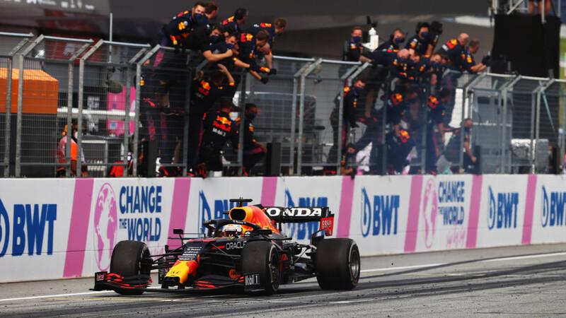 Fórmula 1 2021: Verstappen domina a placer en Austria