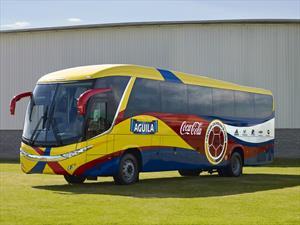Chevrolet presentó en sociedad el nuevo bus de la Selección Colombia
