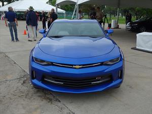 Primer contacto con el Chevrolet Camaro 2016