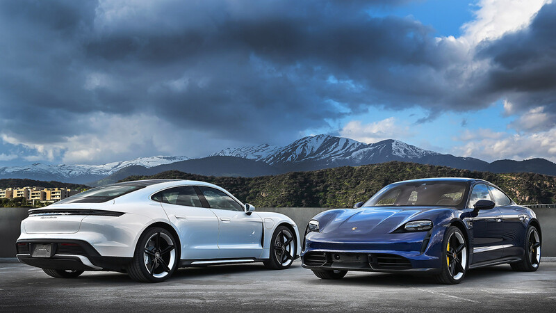 Porsche presenta oficialmente al Taycan 2021 en Chile