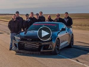 Video: Hennessey Camaro ZL1 The Exorcist, un récord celestial