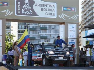Desafío Guaraní: Moreno y Orjuela terminan sextos en la primera etapa